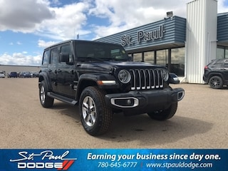 New 2020 Jeep Wrangler Unlimited Sahara SUV for sale/lease in St. Paul, AB