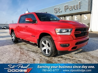 New 2020 Ram 1500 Sport/Rebel Truck Crew Cab for sale/lease in St. Paul, AB