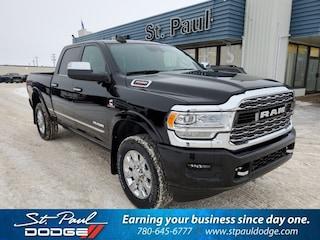 New 2020 Ram 3500 Limited Truck Crew Cab for sale/lease in St. Paul, AB