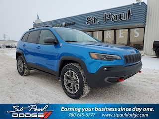 New 2020 Jeep Cherokee Trailhawk SUV for sale/lease in St. Paul, AB