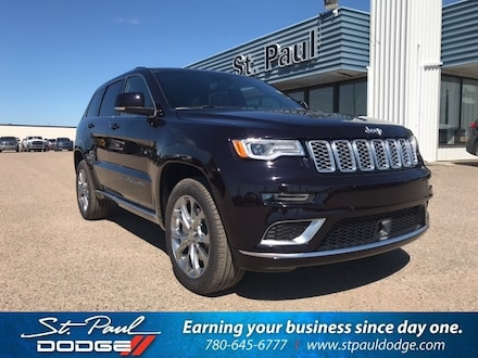 Featured New 2020 Jeep Grand Cherokee Summit SUV for sale/lease in St. Paul AB