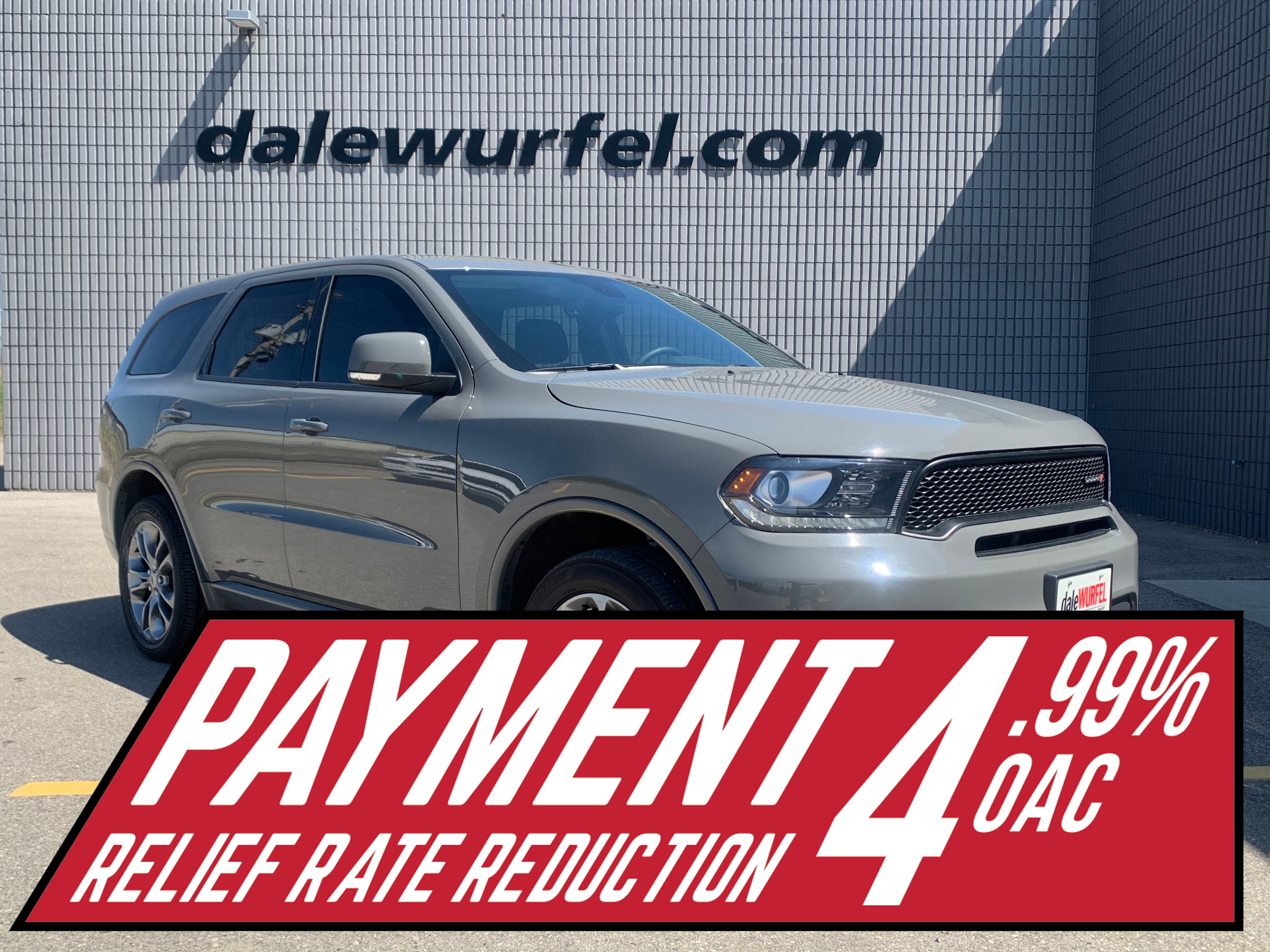 2019 Dodge Durango GT AWD | NAV | LEATHER | ONE OWNER | SUV