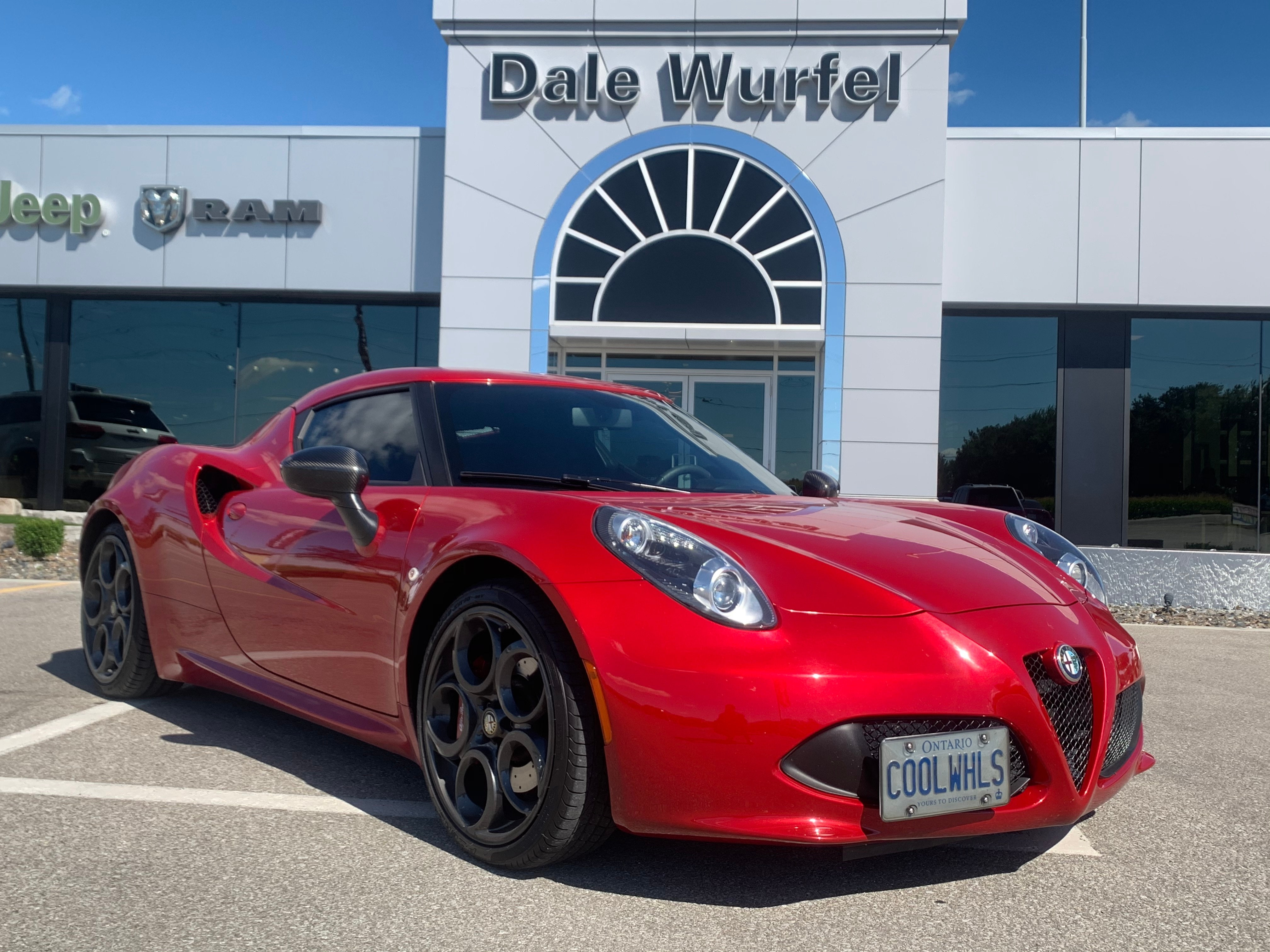 Used 2016 Alfa Romeo 4c Coupe Carbon Package Brembo Leather For Sale Strathroy On