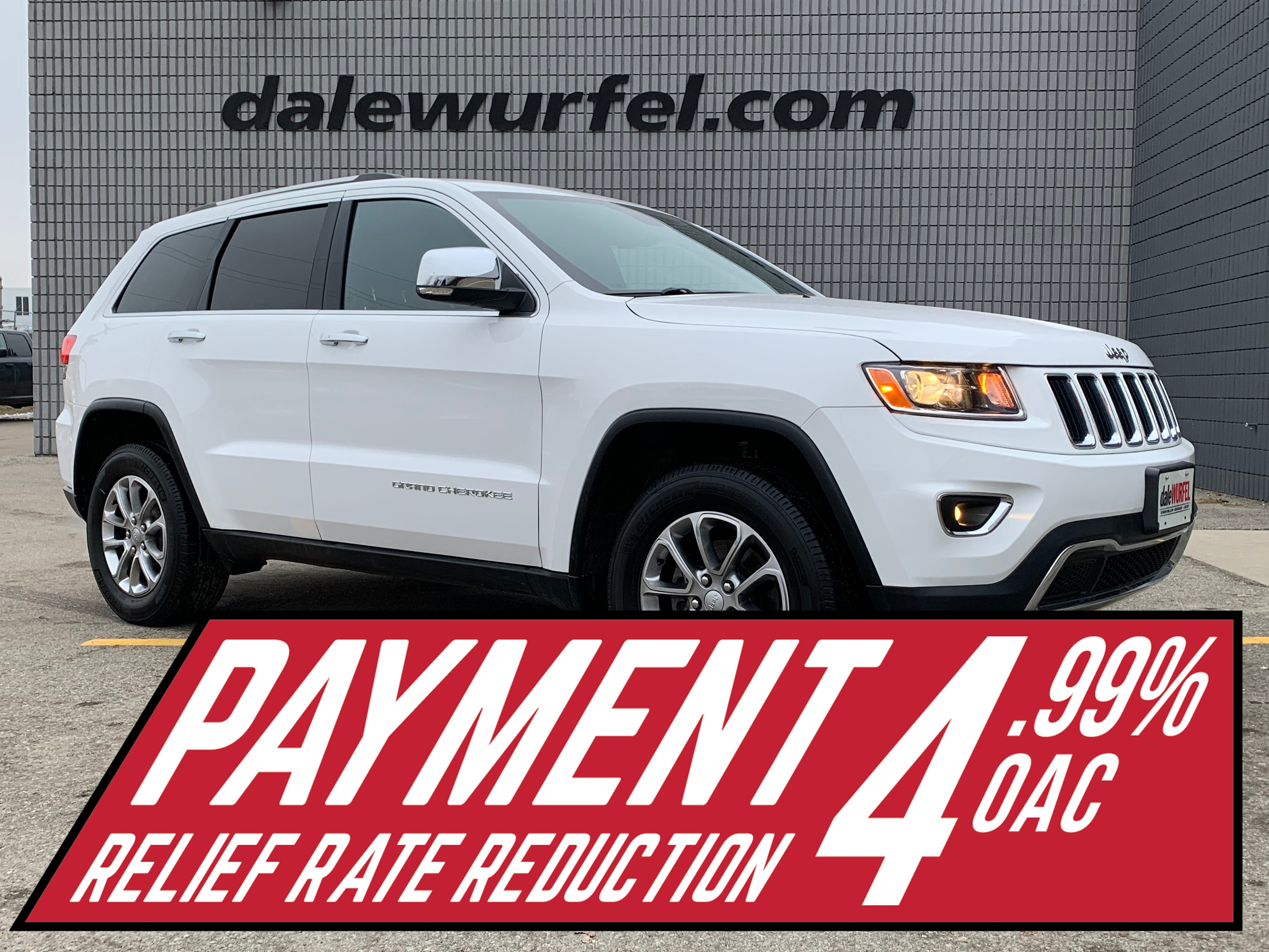 2016 Jeep Grand Cherokee Limited | LEATHER | HITCH | REMOTE START | SUV