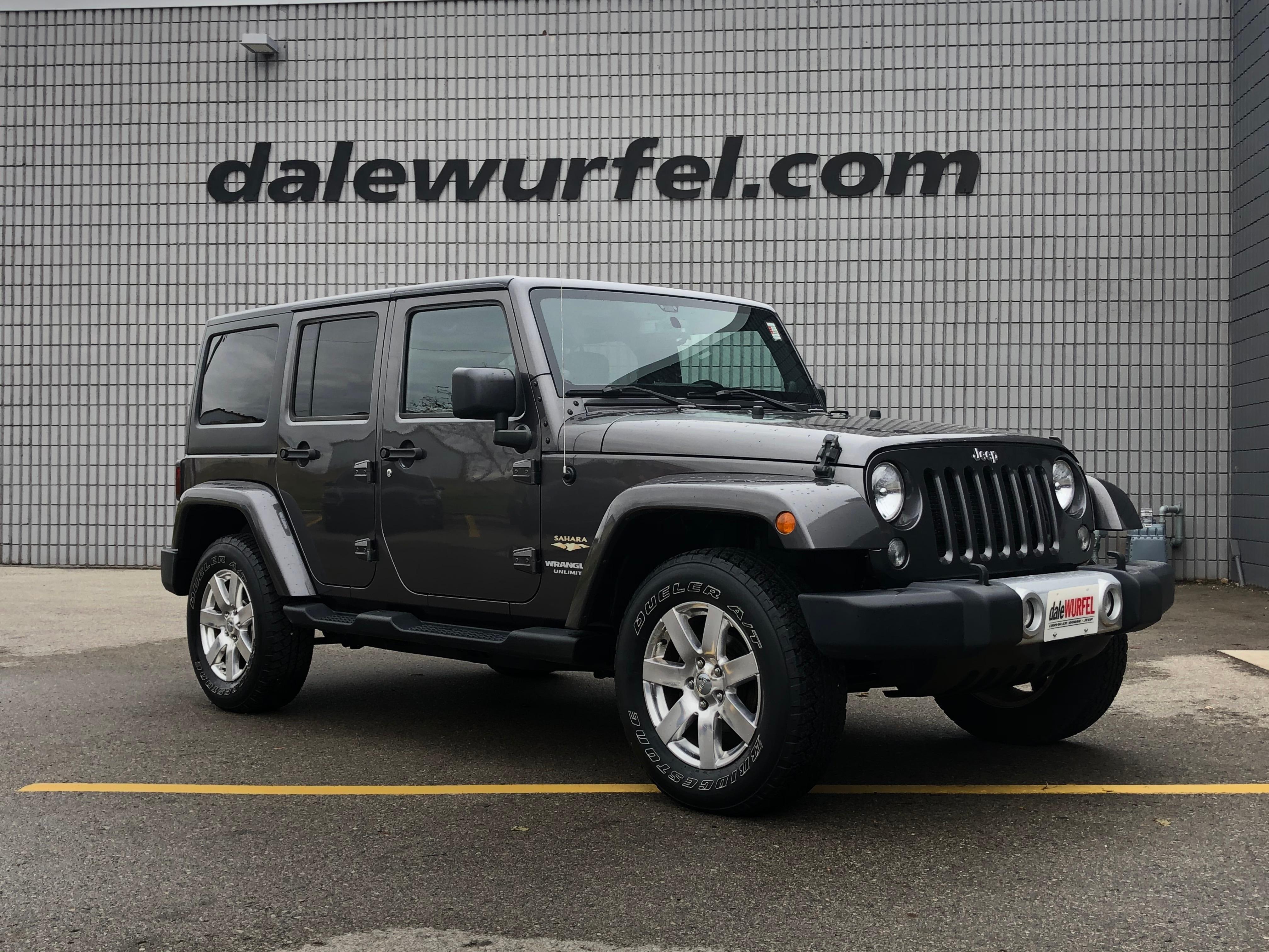 2014 Jeep Wrangler Unlimited Sahara | DUAL TOP | NAV | SUV