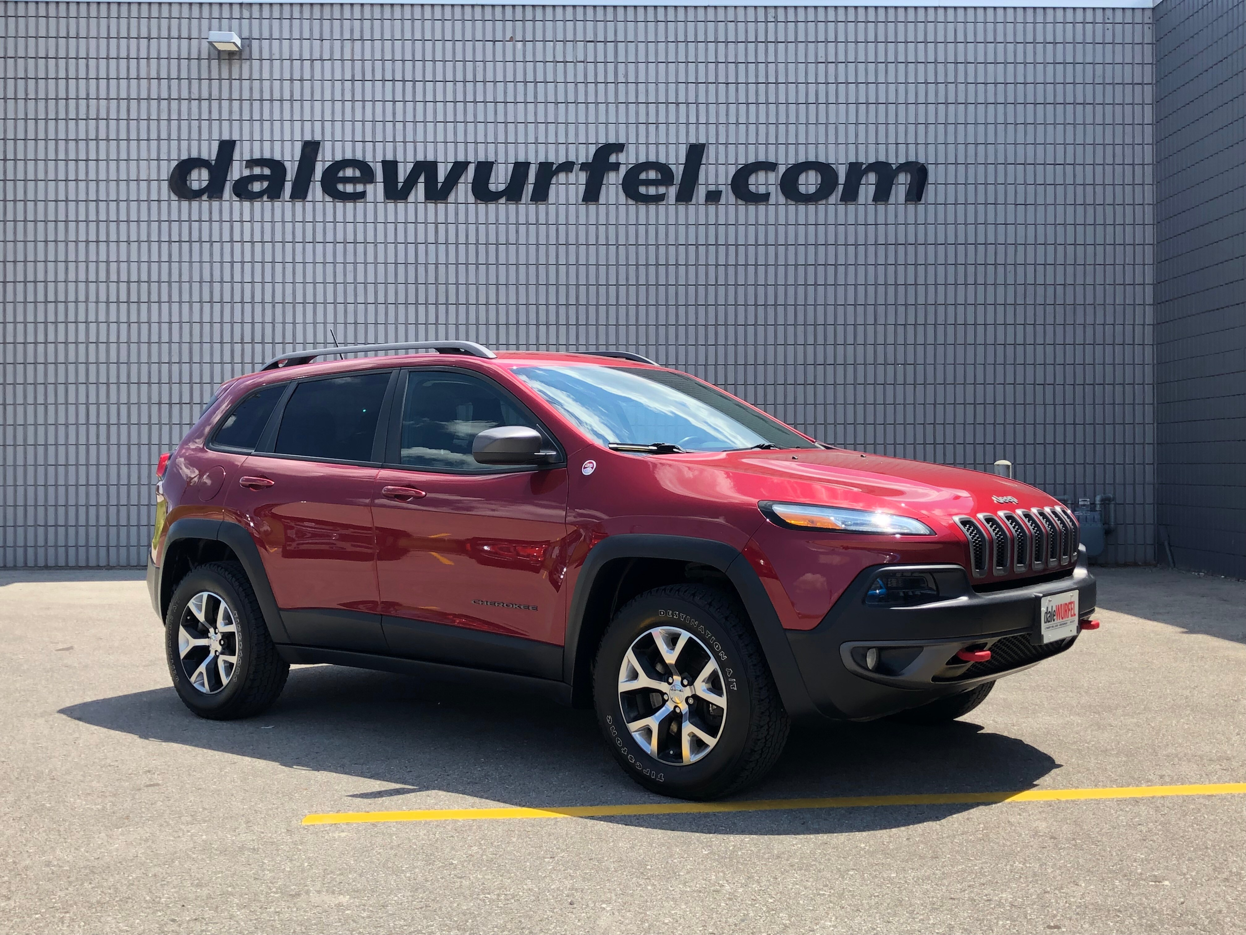 2014 Jeep Cherokee Trailhawk | NAV | HITCH | BACK UP CAM | SUV