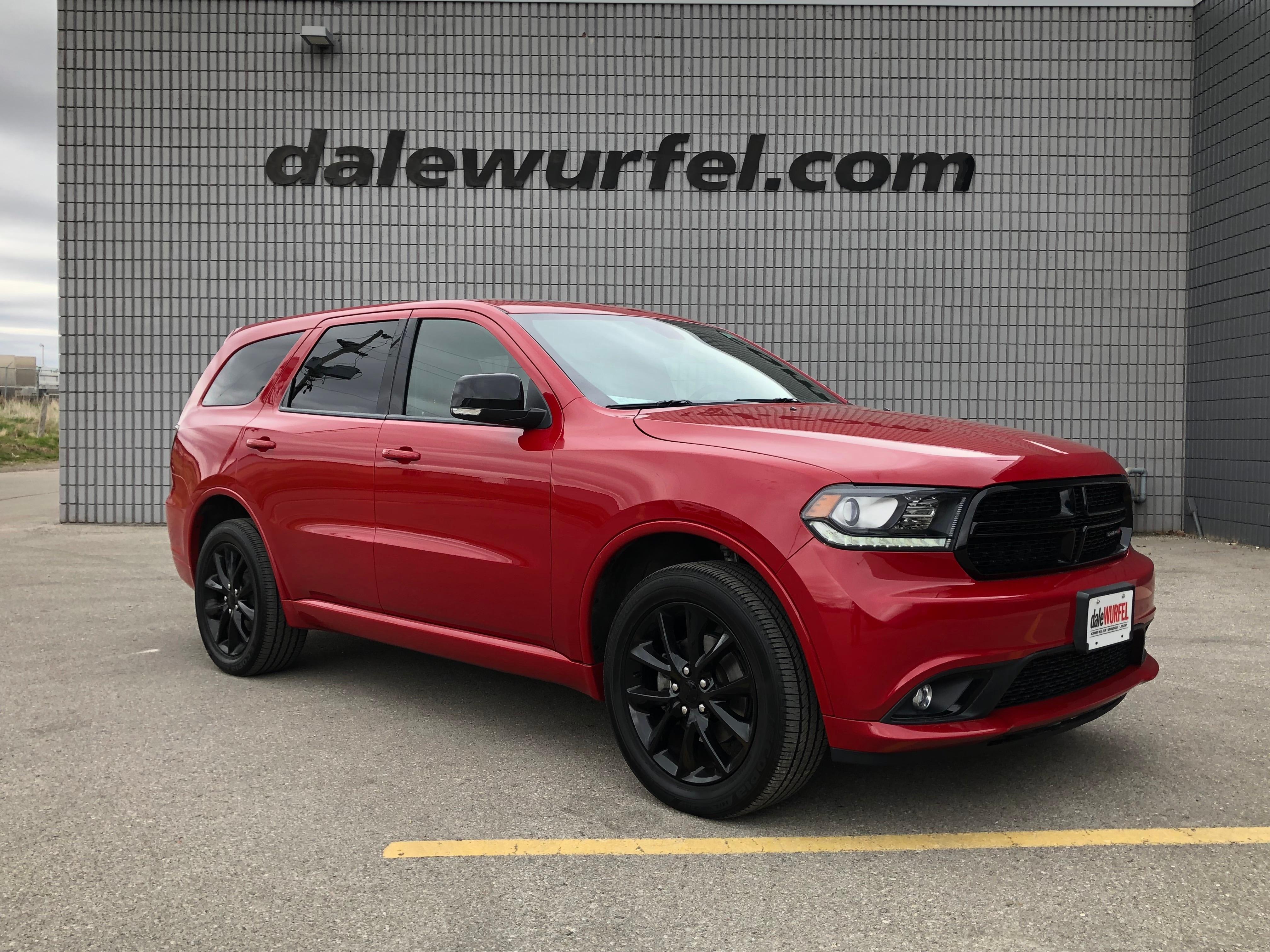 2018 Dodge Durango GT BLACKTOP | AWD | DVD | NAV | SUNROOF | SUV