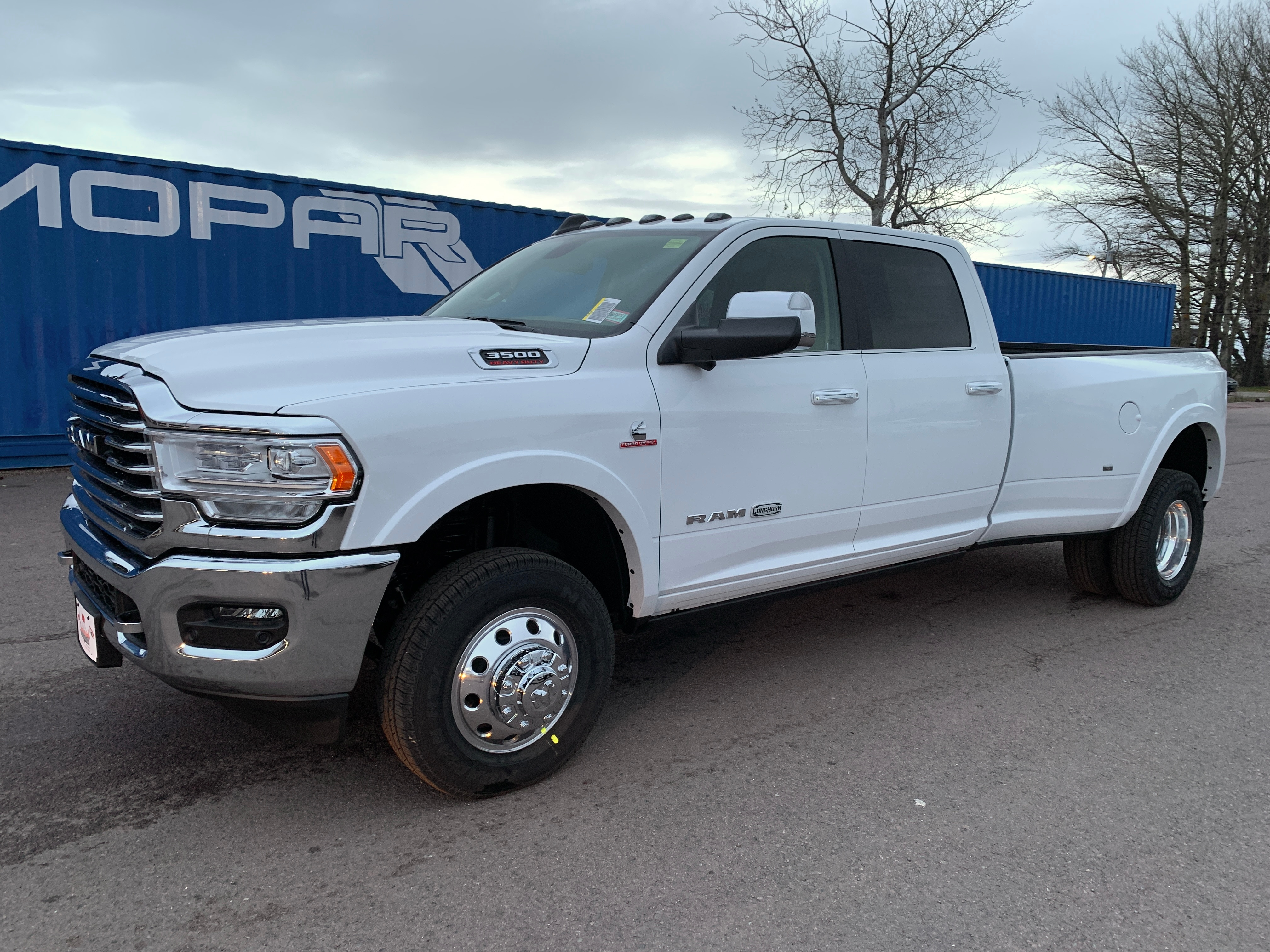 2020 Ram 3500 4x4 Crew Cab 8 ft. box 169.5 in. WB