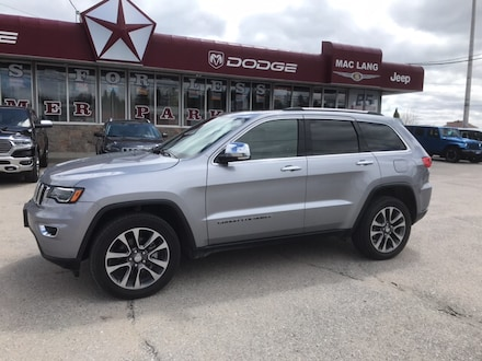 2018 Jeep GR Cherokee Limited LIMITED
