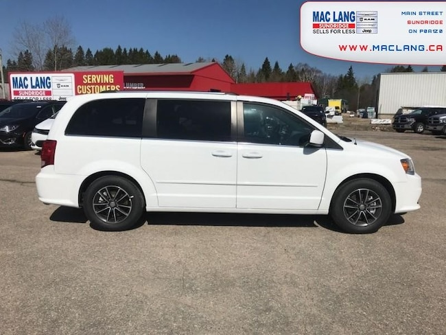 2017 Dodge Grand Caravan SXT Premium Plus -  Uconnect - $212.39 B/W Van
