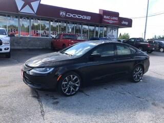 2015 Chrysler 200 S S