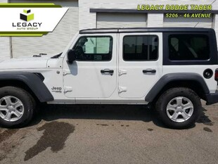 2018 Jeep Wrangler Unlimited Sport - Trailer Tow - $125.32 /Wk SUV 285HP V6 Cylinder Engine [4H4, *A7, NAS, HT1, ADH, AAN, -X9, 24S, PW7, APA, DFT, YGE, ERC]