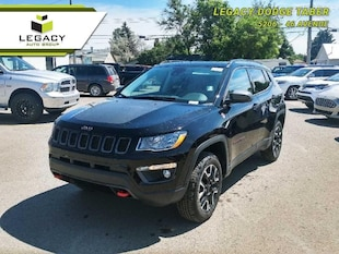2019 Jeep Compass Trailhawk - Sunroof - Leather Seats - $110.88 /Wk SUV 180HP 4 Cylinder Engine [27E, UCQ, *TL, PXJ, YGS, ALP, EDE, 4EX, NAA, DF5, APA, -XC, AJB, JRC, GWJ, AJD, 5P6, 3XA, 5N6]