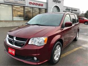 2018 Dodge Grand Caravan Crew Plus w/Leather Heated Seats, Navi, Bluetooth Van Passenger Van