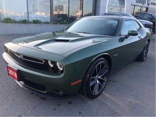 2018 Dodge Challenger R/T V8 6-Speed w/Handling Pack, Driver Convenience Coupe