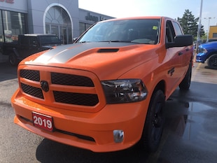 2019 Ram 1500 Classic Express Crew 4x4 V8 Ignition Orange Edition Truck Crew Cab