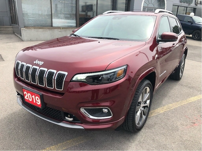 2019 Jeep New Cherokee Overland 4x2 V6 w/Navi, Leather, Safety Tech SUV