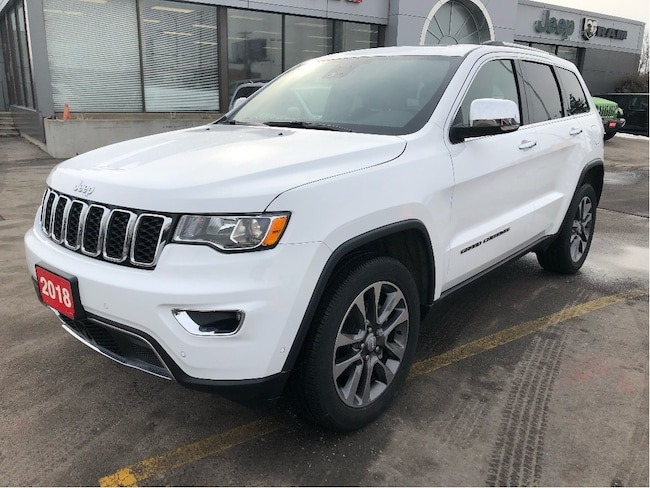 2018 Jeep Grand Cherokee Limited 4x4 V6 w/Leather, Sunroof, Navi, Tow Pack SUV