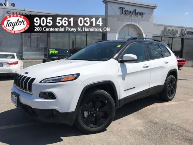 2018 Jeep Cherokee High Altitude 4x4 V6 w/Sunroof, Backup Cam SUV