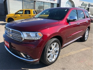 2018 Dodge Durango Citadel V6 w/Tow Group, Safety Tech Group, Navi, S SUV