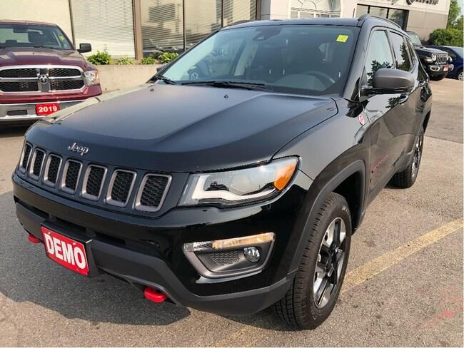 2018 Jeep Compass Trailhawk 4x4 w/Leather, Sunroof, Navi SUV