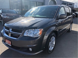 2017 Dodge Grand Caravan Crew w/Heated Seats, Remote Start, Backup Cam Van Passenger Van