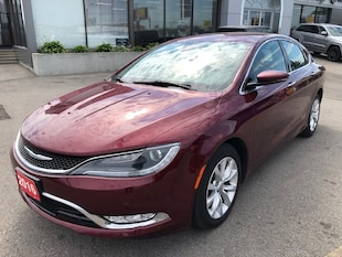 2016 Chrysler 200 C V6 w/Leather Heated and Cooled Seats  Sedan