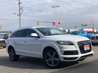 2015 Audi Q7 Q7**Vorsprung**Panoramic Roof**NAV**Leather SUV