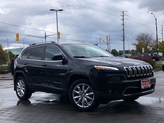 2016 Jeep Cherokee Limited**4X4**Leather**8.4 Screen**Camera** SUV