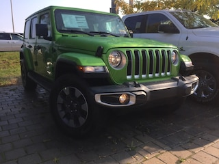 New 2018 Jeep All-New Wrangler Unlimited Sahara SUV T25845 for sale in Mississauga, ON
