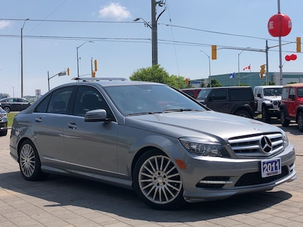 2011 Mercedes-Benz C-Class C 250**4matic**Leather**Sunroof**