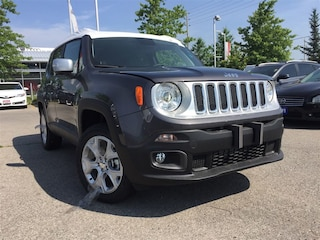 New 2018 Jeep Renegade Limited SUV T25496 for sale in Mississauga, ON
