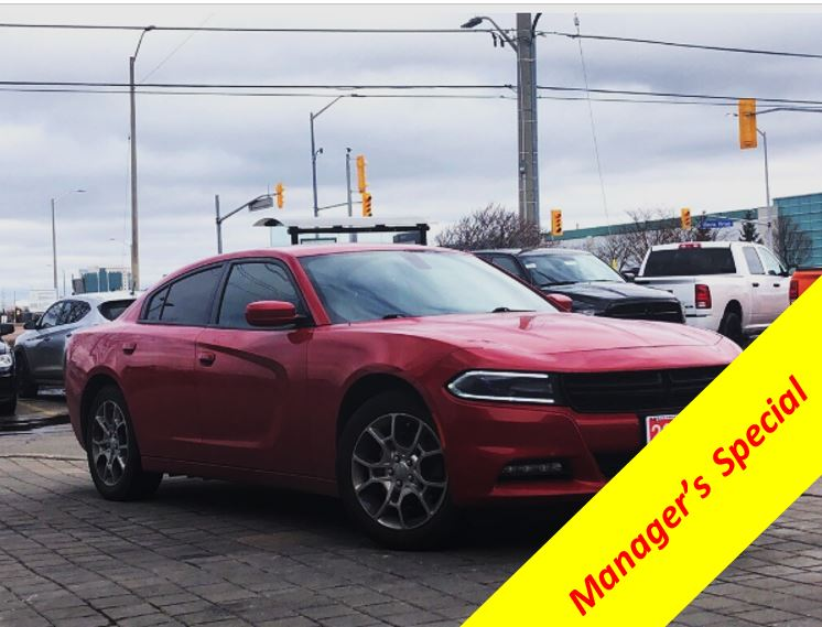 2016 Dodge Charger SXT**AWD**8.4 Inch Touchscreen**Sunroof Sedan