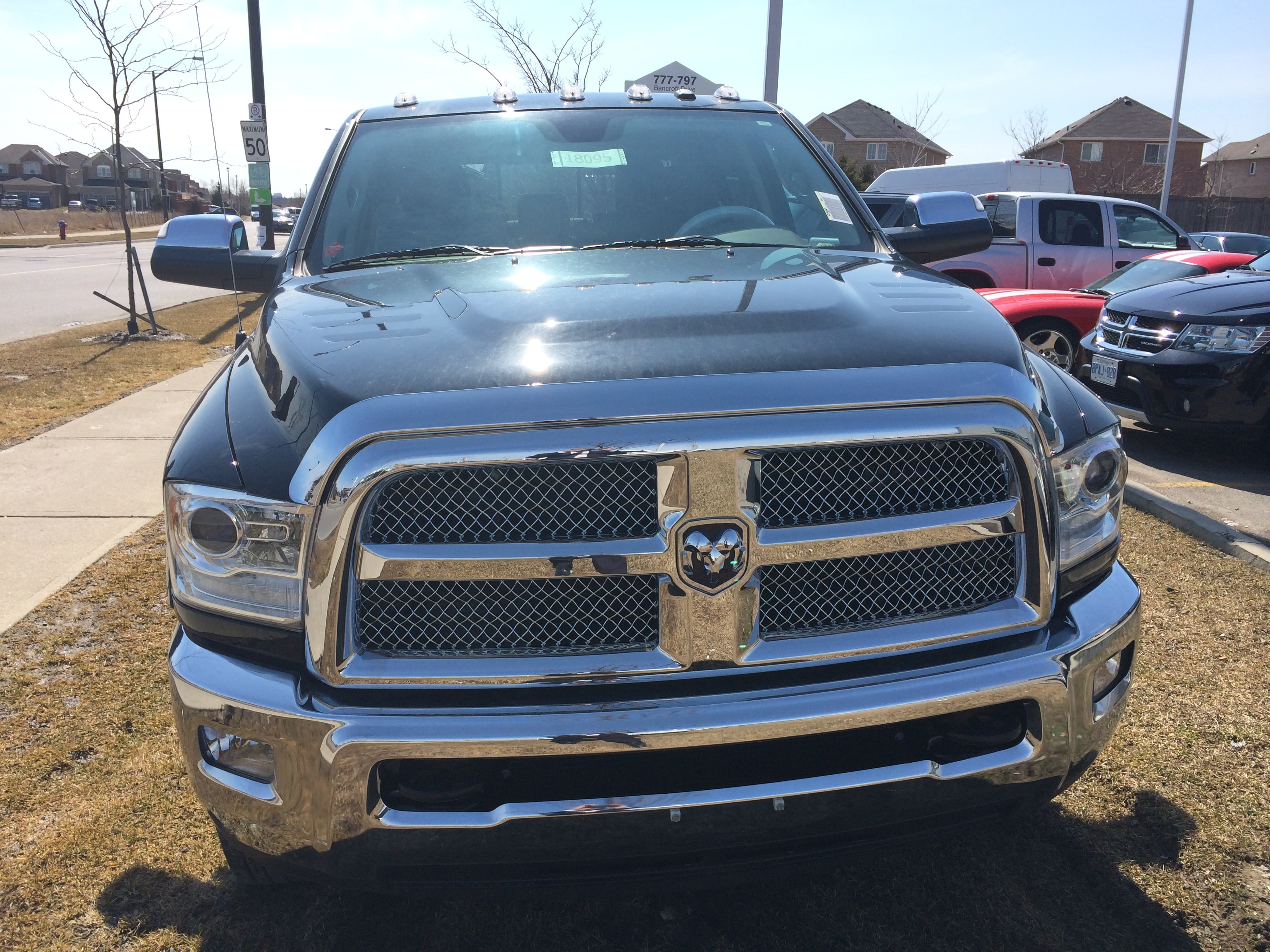 2014 Ram 3500 **DUAL REAR WHEELS**SUNROOF** Truck Mega Cab