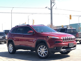 2015 Jeep Cherokee Limited**4X4**Leather**Pano Roof**NAV**Blind Spot SUV