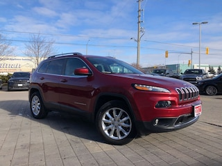Used Vehicles For Sale 2017 Jeep Cherokee Limited 4X4**Adaptive Cruise Control** SUV in Mississauga, ON