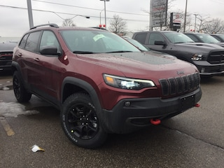 New 2020 Jeep Cherokee Trailhawk Elite SUV for sale in Mississauga, ON