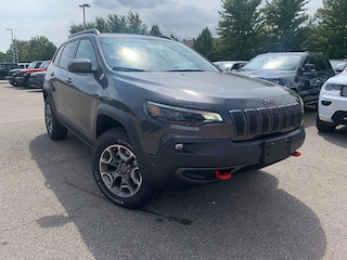 New 2020 Jeep Cherokee Trailhawk SUV for sale in Mississauga, ON