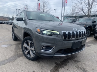 New 2020 Jeep Cherokee Limited SUV for sale in Mississauga, ON