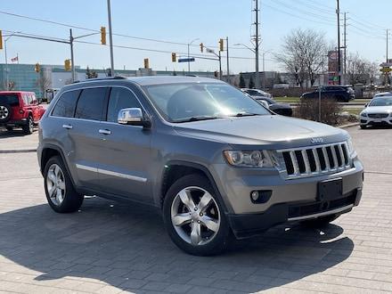 2012 Jeep Grand Cherokee Overland**4X4**Leather**NAV**Sunroof**AIR Ride** SUV