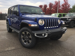 New 2018 Jeep All-New Wrangler Unlimited Sahara SUV T25874 for sale in Mississauga, ON