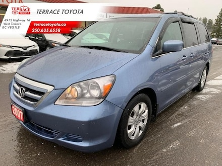2007 Honda Odyssey EX 5 SPD at - Remote Keyless Entry - Power Sliding Van