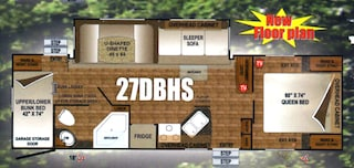 2016 Creek Side 27DBHS Travel Trailer