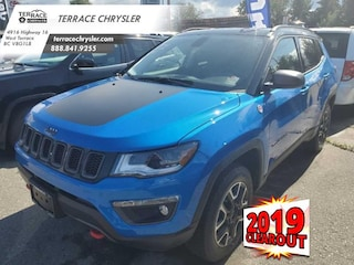 2019 Jeep Compass Trailhawk - Sunroof - Leather Seats SUV