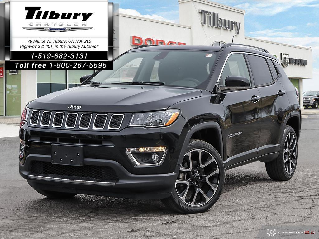 2018 Jeep Compass Limited 4x4 - Heated Seats, Remote Start, Sunroof SUV