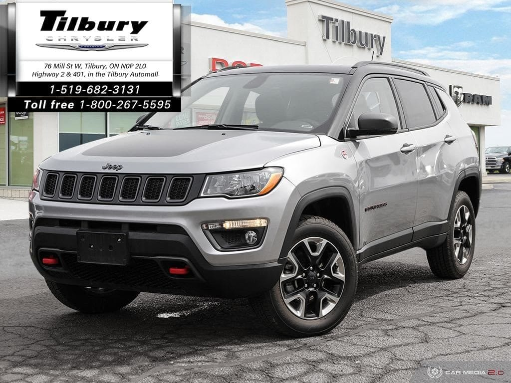 2018 Jeep Compass Trailhawk 4x4 - Leather, Sunroof, Remote Start SUV