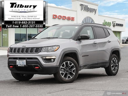 2020 Jeep Compass Trailhawk, Trailer Tow, Leather Seats, Navigation SUV