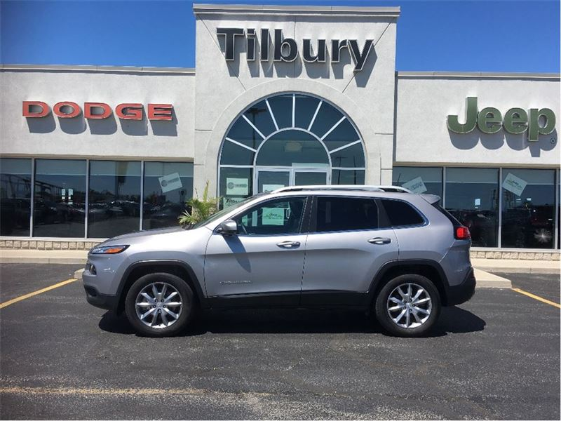 2017 Jeep Cherokee Limited, nav, Roof, 4x4, Leather Interior SUV