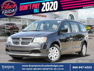 2019 Dodge Grand Caravan CVP*DEMO*REAR STOW N GO*ROOF RACKS* Van