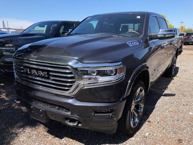 2019 Ram All-New 1500 Laramie Longhorn|PANORAMIC SUNROOF|12 INCH UCONNEC Truck Crew Cab